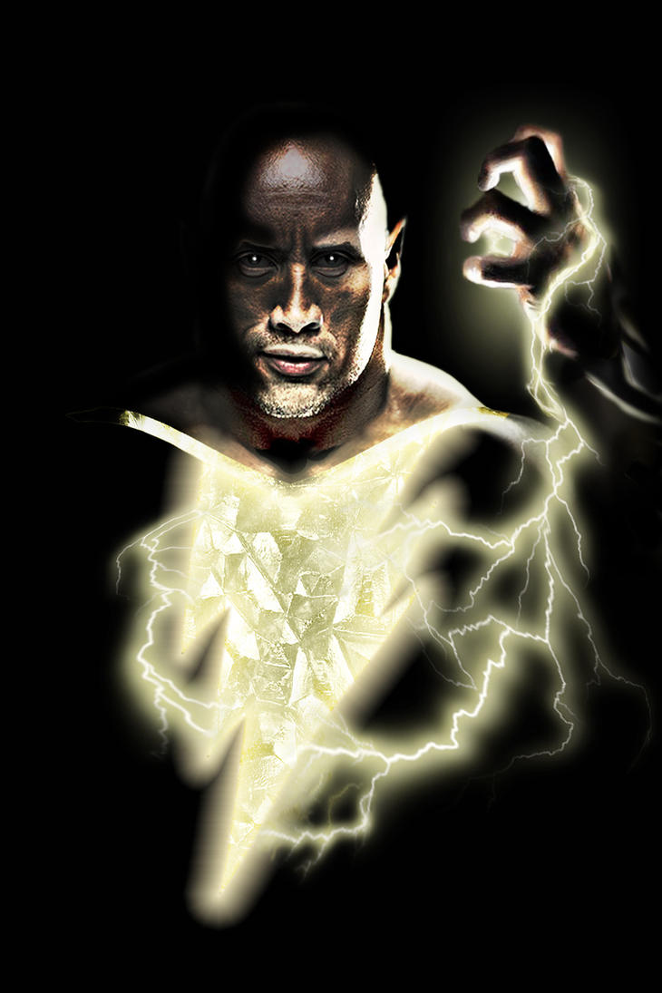 Black Adam (The Rock) by zg01man