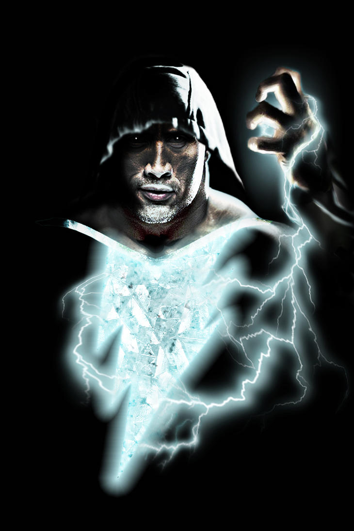 Black Adam (The Rock) [New 52 Style] by zg01man