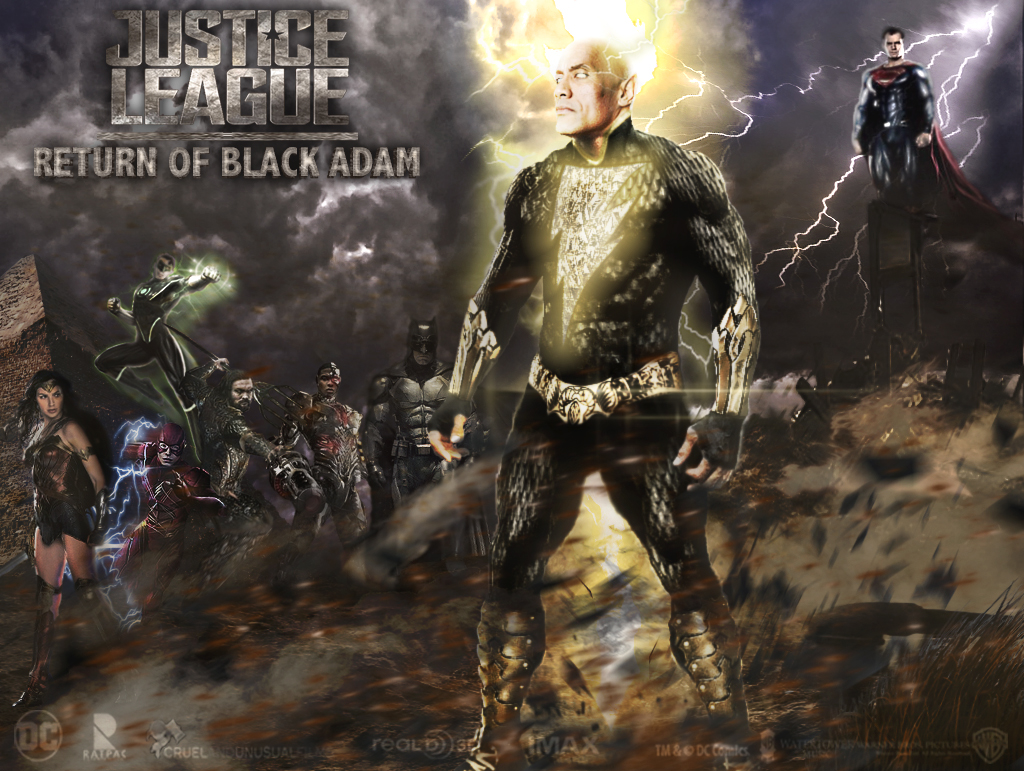 Justice League - Return of Black Adam by zg01man