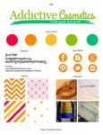 Addictive Cosmetics Brand Identity