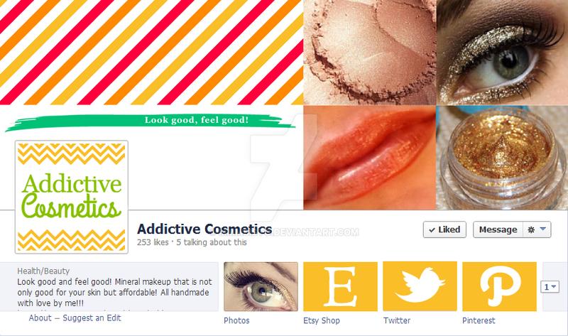Addictive Cosmetics Facebook Mockup by mmmbisto