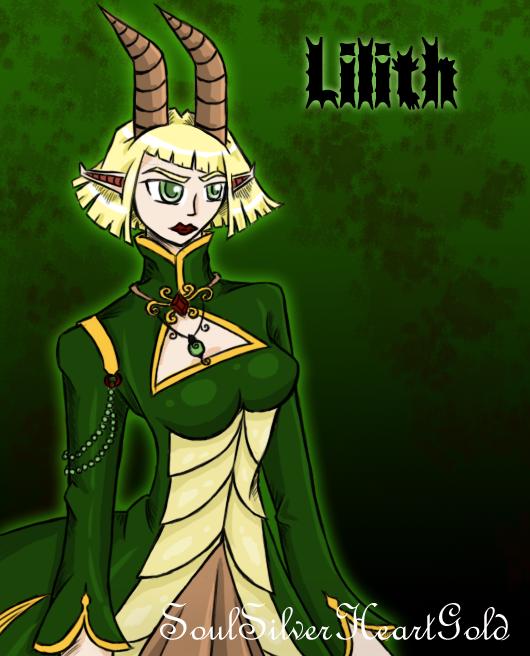 Lilith By SoulSilverHeartGold On DeviantART
