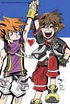 Neku and Sora- Adventureeeeeee
