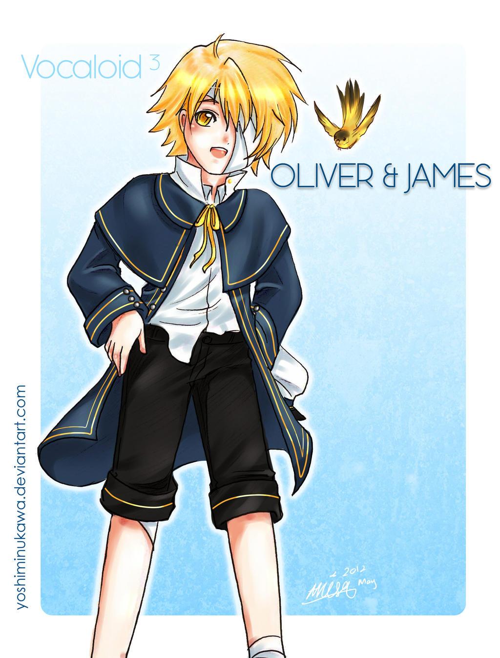 Vocaloid 3 Oliver by yuzuhana on DeviantArt