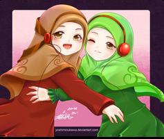 Sister Forever by yuzuhana