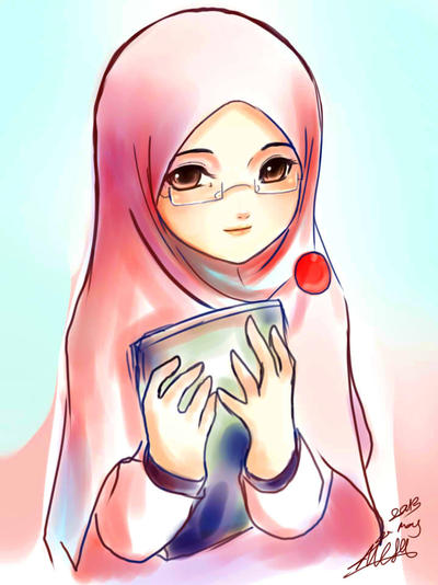 Megane Muslimah by yuzuhana