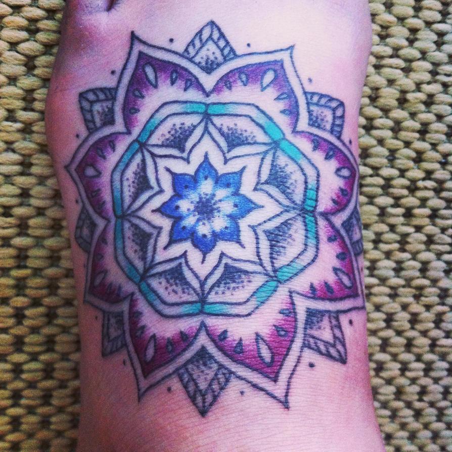 Lotus flower Mandala by CraazyInABottle