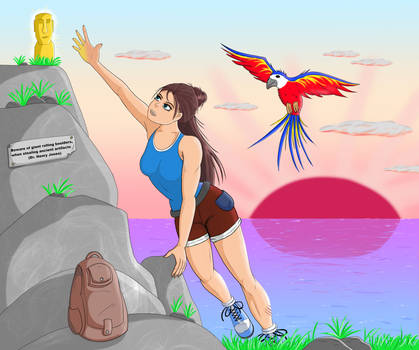Adventure-Girl (DTIYS for Insta-Udser sunbeamsart)