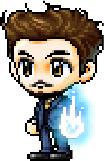 Tony stark chibi by darklink94