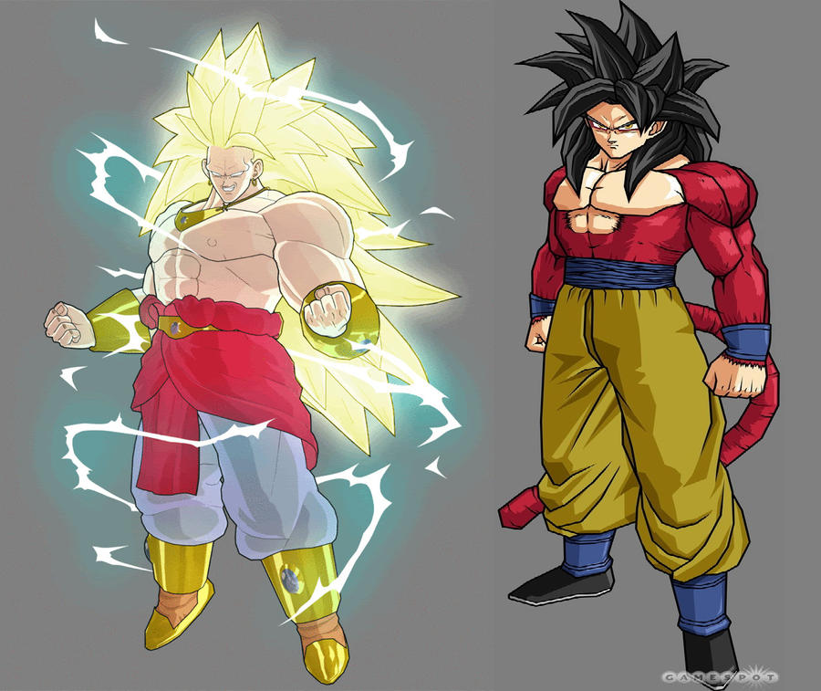 goku ssj4 vs broly ssj3 by opunu on DeviantArt