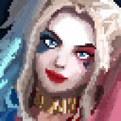 Harley Quinn by carcinogen75