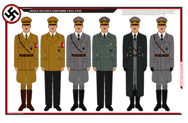Hitler's Uniforms by TheRanger1302