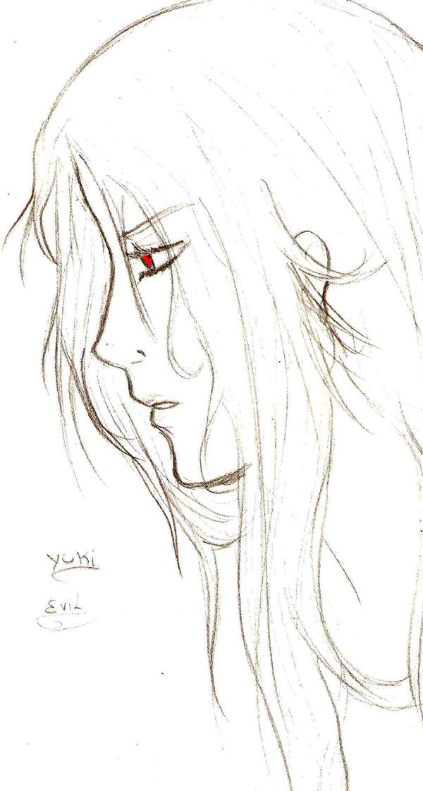 Human Yuki by EvilHateYouAll