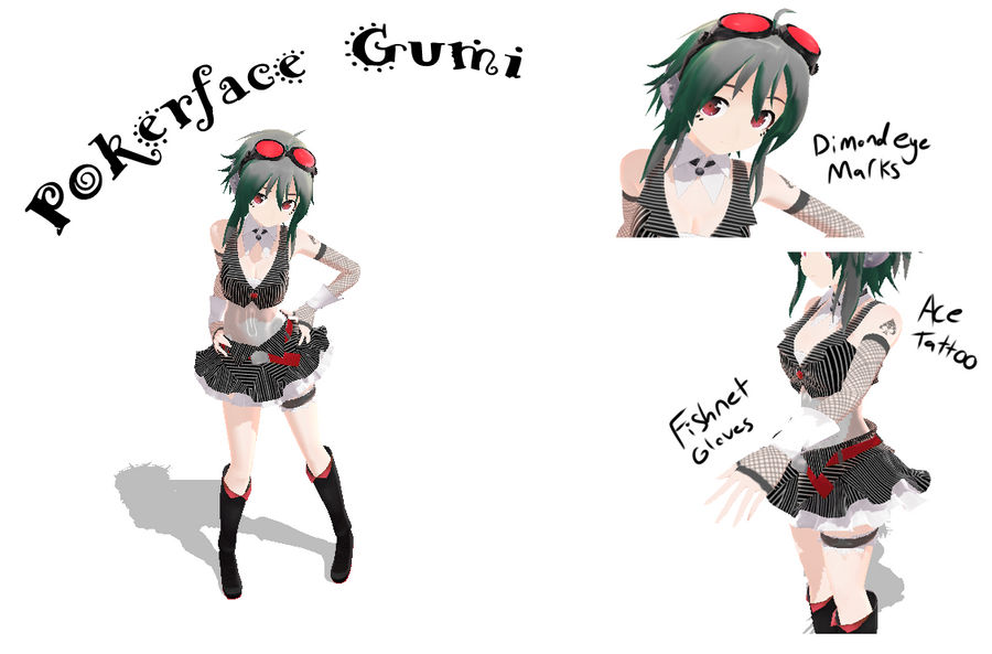 Poker face Gumi + Download by NanoCodes