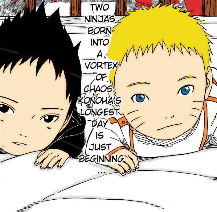 Baby Sasuke and Naruto by Hozukami on DeviantArt