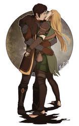 Aleena and Maury by aleenaelyn