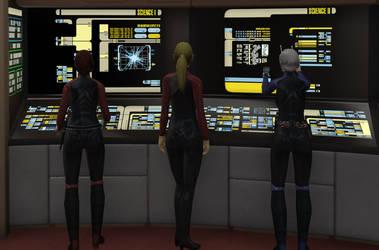 Star Trek Butts by aleenaelyn