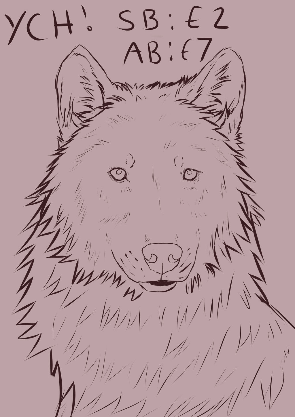 Wolf YCH Auction (Paypal) -CLOSED- by nihtgield