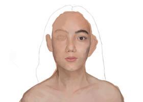 Portrait Study -WIP- by nihtgield