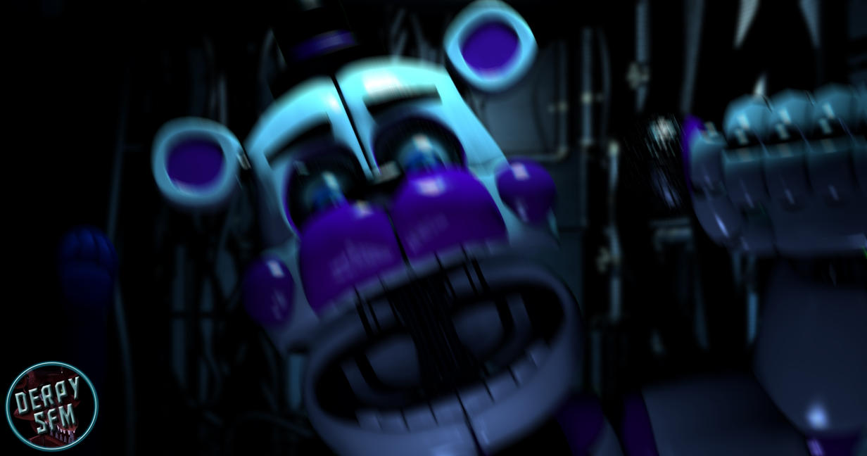 [FNAF SL SFM] Funtime Freddy Jumpscare Remake by derpysans