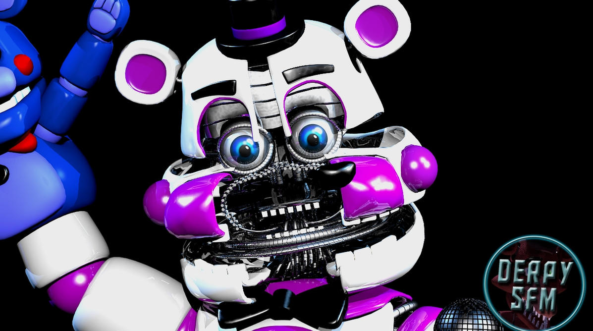 [FNAF BLENDER] Funtime Freddy by derpysans