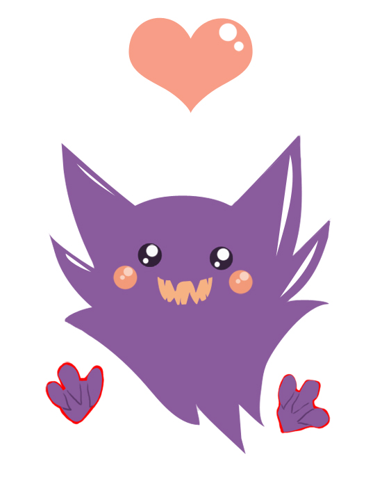 Résultats de recherche d'images pour «cute haunter pokemon»