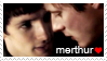 Merthur stamp :D by misi-chan