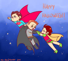 Happy Supernatural Halloween by misi-chan