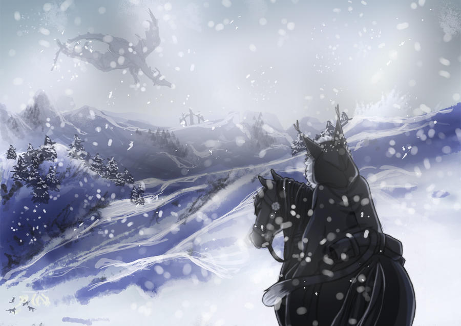 Skyrim by misi-chan