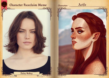 TMM - Aoife Faceclaim by misi-chan