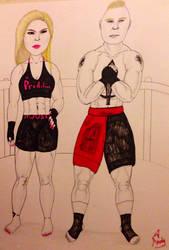 UFC Juggernauts by Zapzzable100