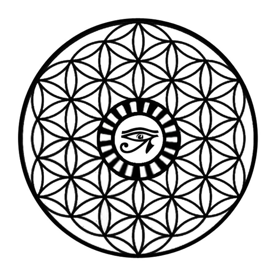 choka flower of life emblem 2 by dmvcustomdesign on deviantart. Black Bedroom Furniture Sets. Home Design Ideas