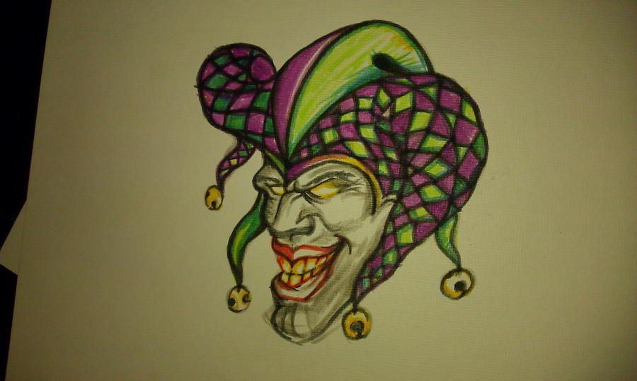 Joker Tattoo Designs Black White Joker Tattoo Design in
