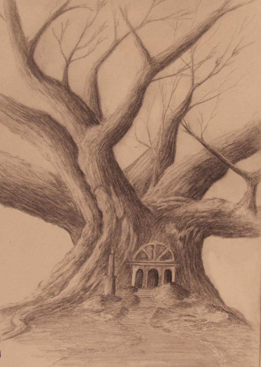 The Big Tree by TylersArtShack