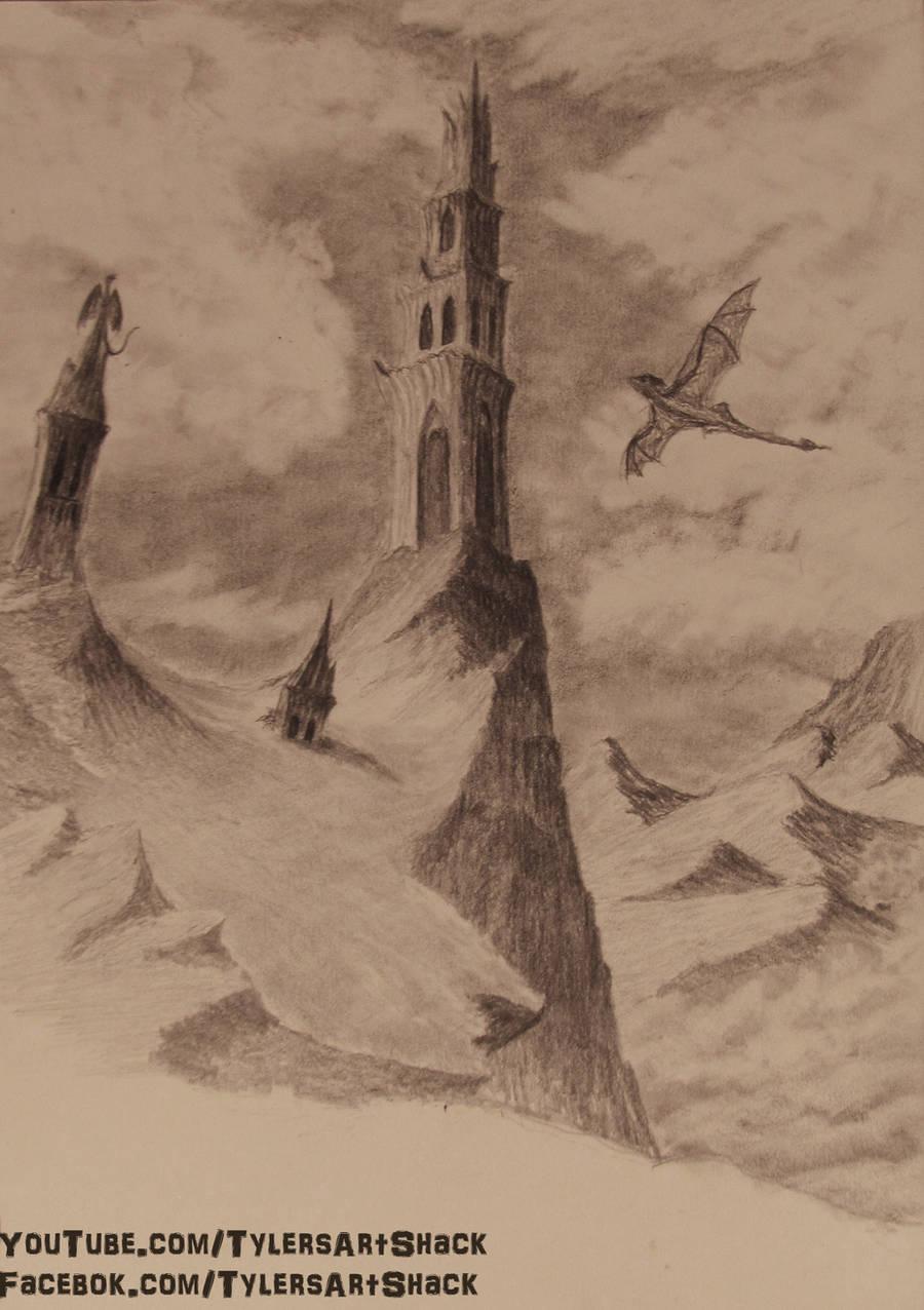 Mountain Top Tower by TylersArtShack