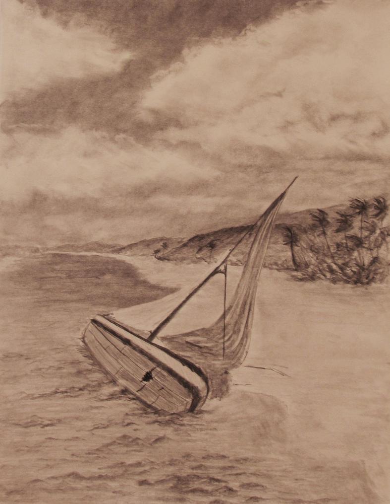 Ship Wreaked in Paradise by TylersArtShack