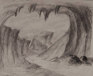 Sketch: Outside the Cave