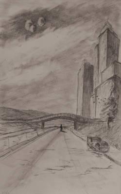 Sketch: City Wanderer