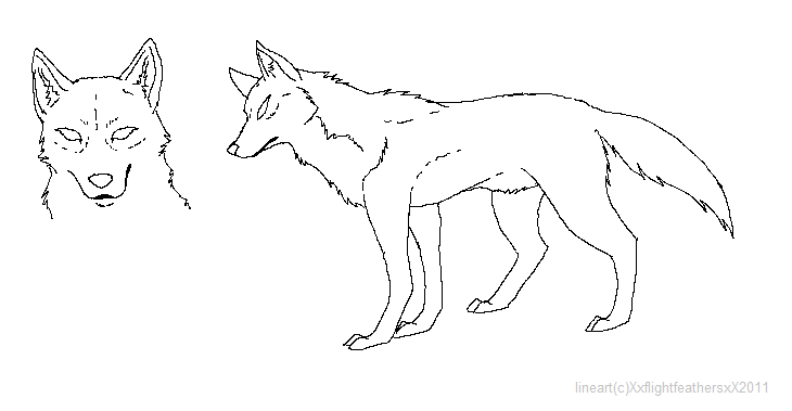 wolf rain coloring pages - photo#7