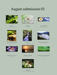 august submissions 3