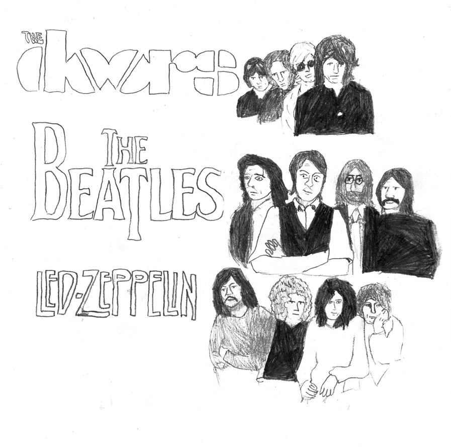 the beatles and led zeppelin compared essay