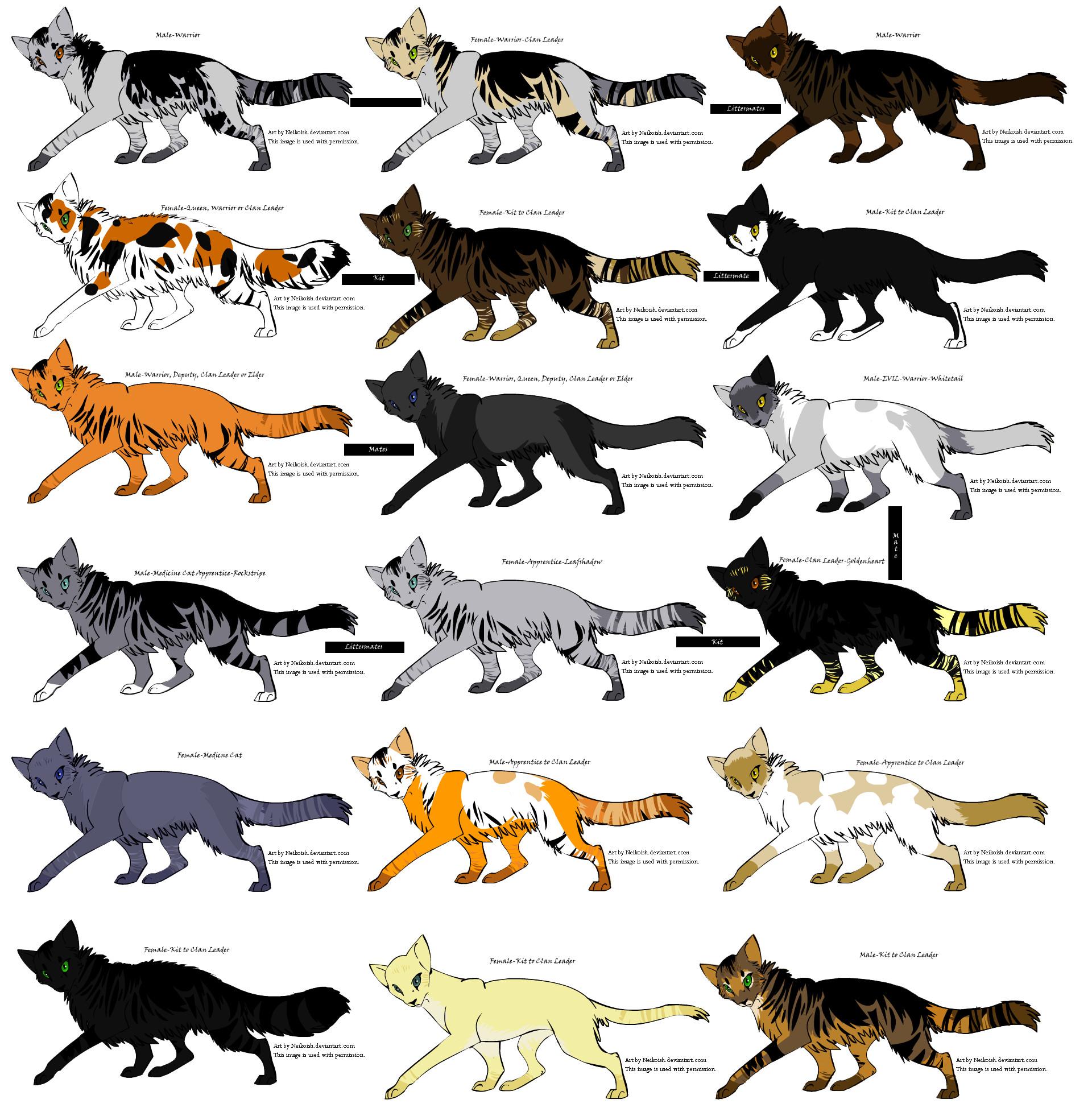 Warrior Cats Villains List