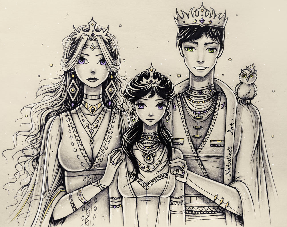 The Royal Family by natalico on DeviantArt