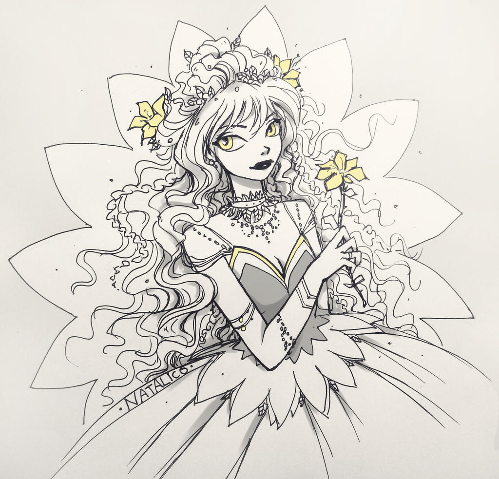 Yellow flower by natalico on DeviantArt