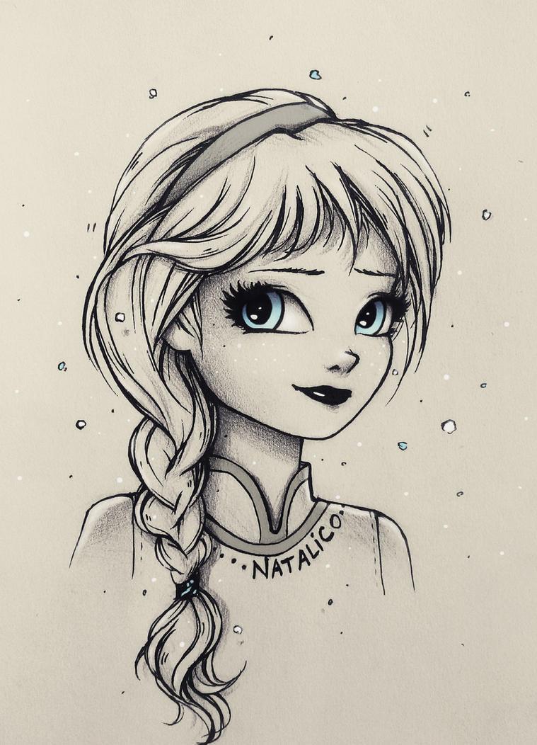 Little Elsa By Natalico On DeviantArt