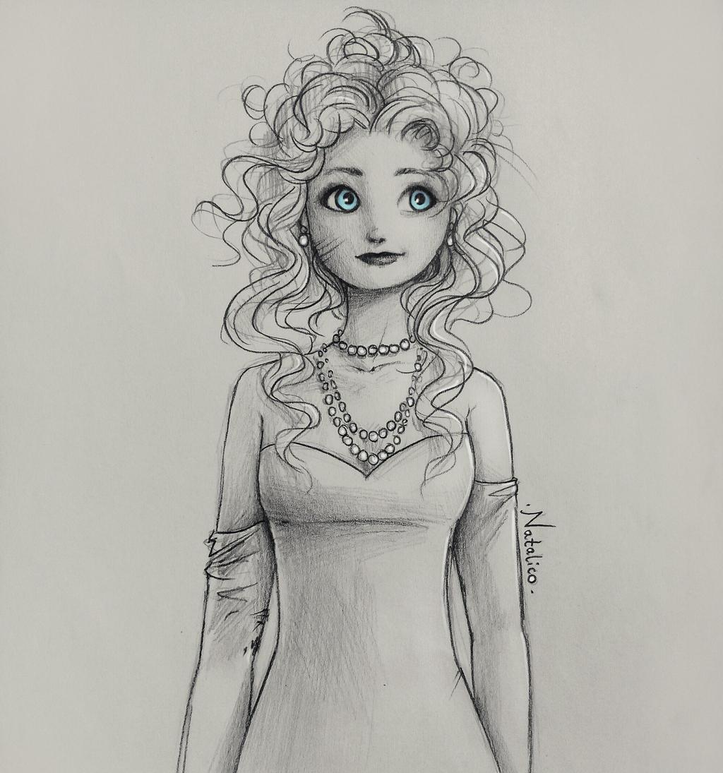 Uncategorized Merida Drawings lady merida by natalico on deviantart natalico