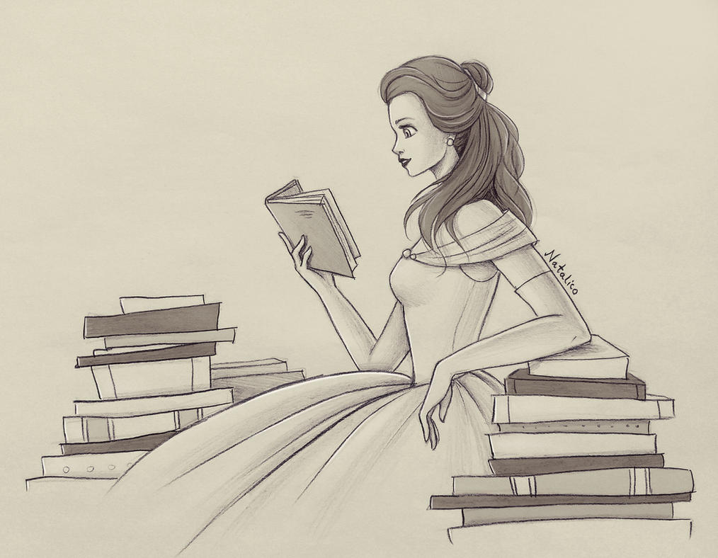 Reading By Natalico On DeviantArt