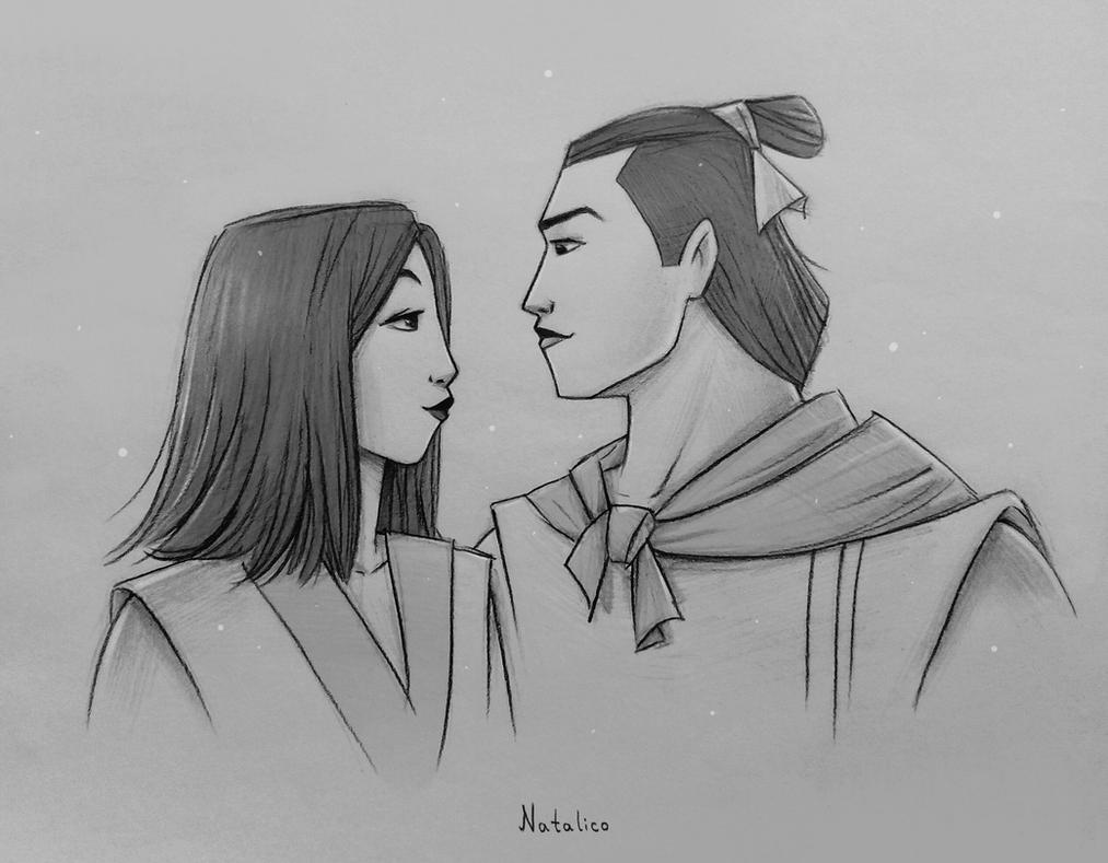 mulan and shang by natalico on deviantart