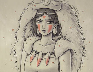 Mononoke by natalico