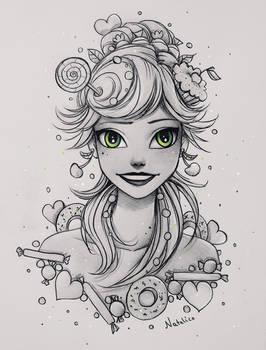 Sweet girl (traditional)